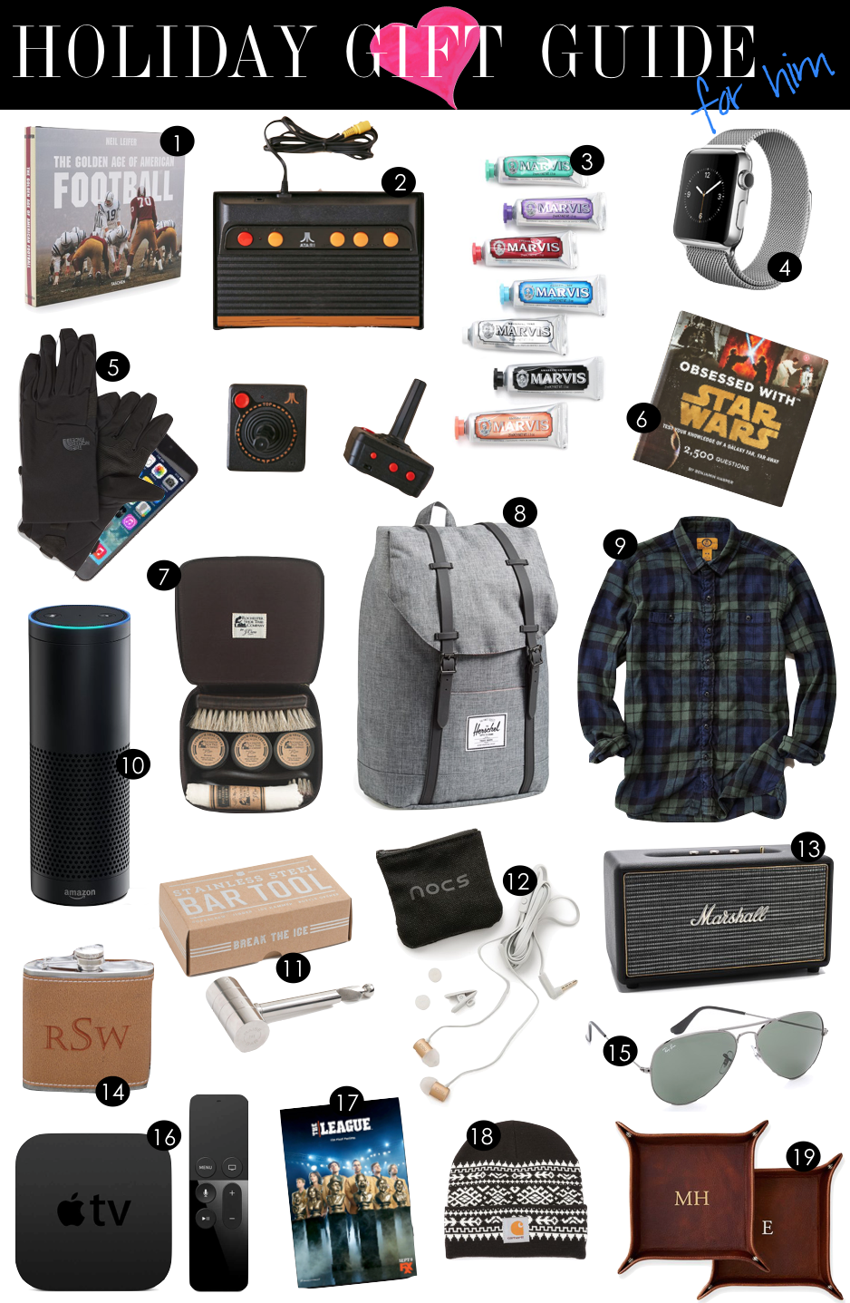 Holiday Gift Guide For Him Kiki S List